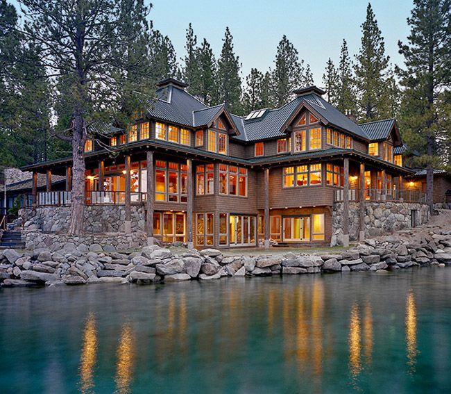 Dream Of Log Home Do Your Homework: Dream House Of The Day