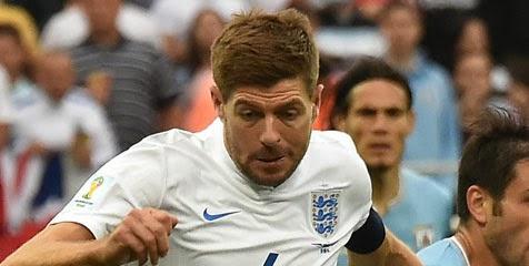 Gerrard Pesimis Tatap Peluang Lolos Inggris