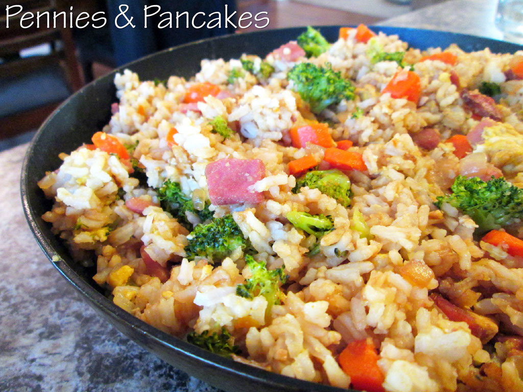 Pennies & Pancakes: Amazing Fried Rice ($0.49 per cup)