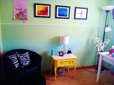 Jill Wright's Studio -- North Wall