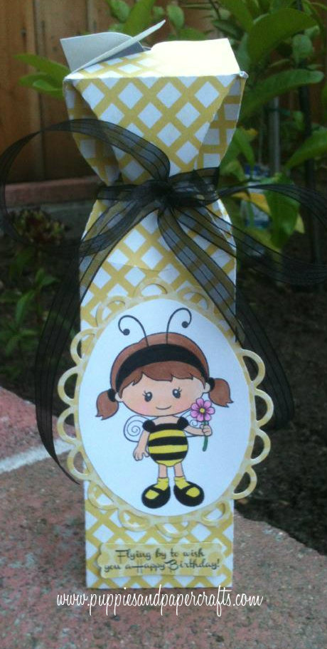I Made A Cute Little Birthday Gift Using My Cameo And The Jaded Blossom Bug Boo Set Just Love This Girl So Fun To Color