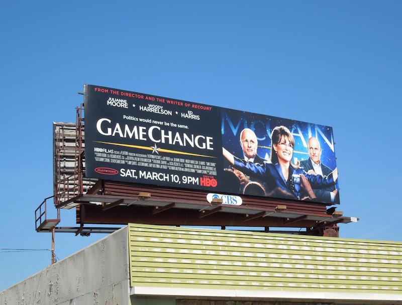 Game Change HBO billboard