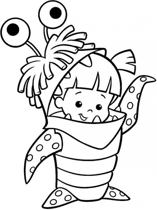 Fun Coloring Pages Monster Inc Coloring Pages Interesting Coloring Pages