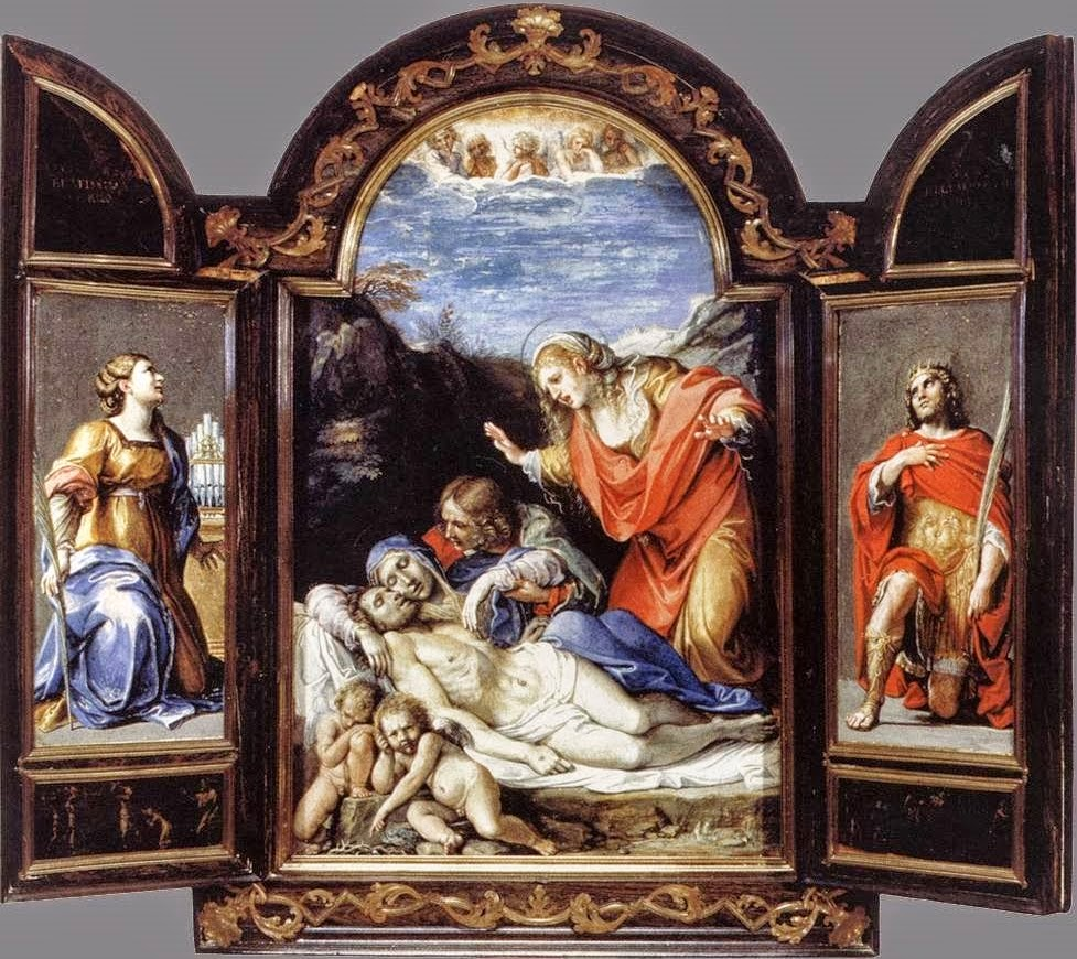 Paintings by annibale carracci baroque era painter 1560 for Famous artist in baroque period