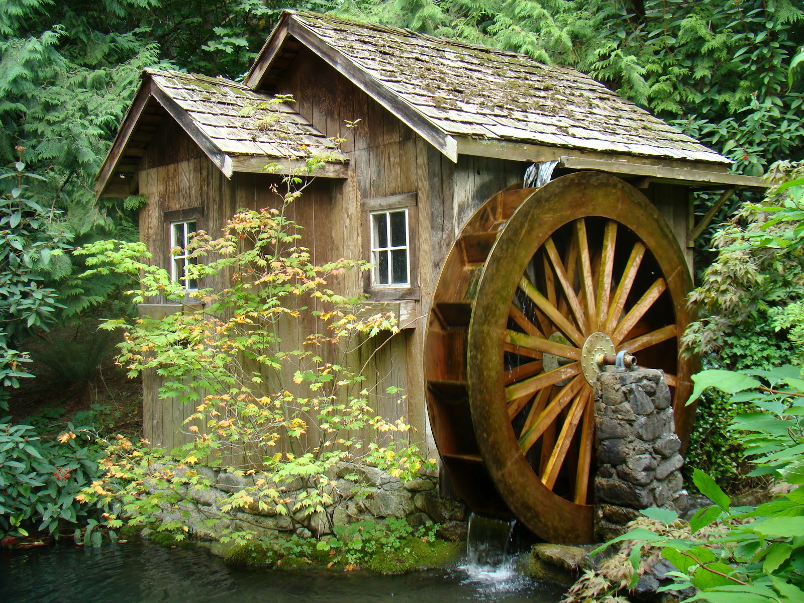Water Wheel Mill Pictures Old Water Wheel Mills in The