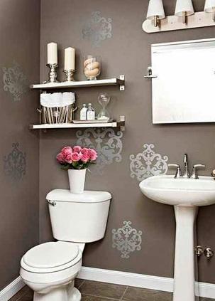 Estantes para organizar y decorar tu ba o decoraci n for Elementos de decoracion para el hogar