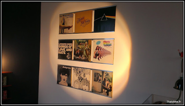 déco style loft 40m² meuble métier tiroir table Etsy 70s fauteuil club brocante, music wall vynils au mur