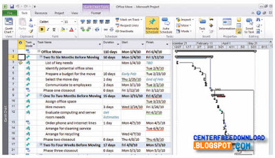 microsoft project free download 2010