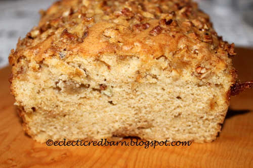 Apple and Pecan Bread