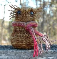 Owlish - a Knot Canadian knitting pattern
