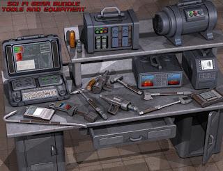 Sci Fi Équipement Bundle
