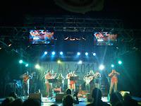 Imagen de concierto en la Carpa del Ternasco 2011