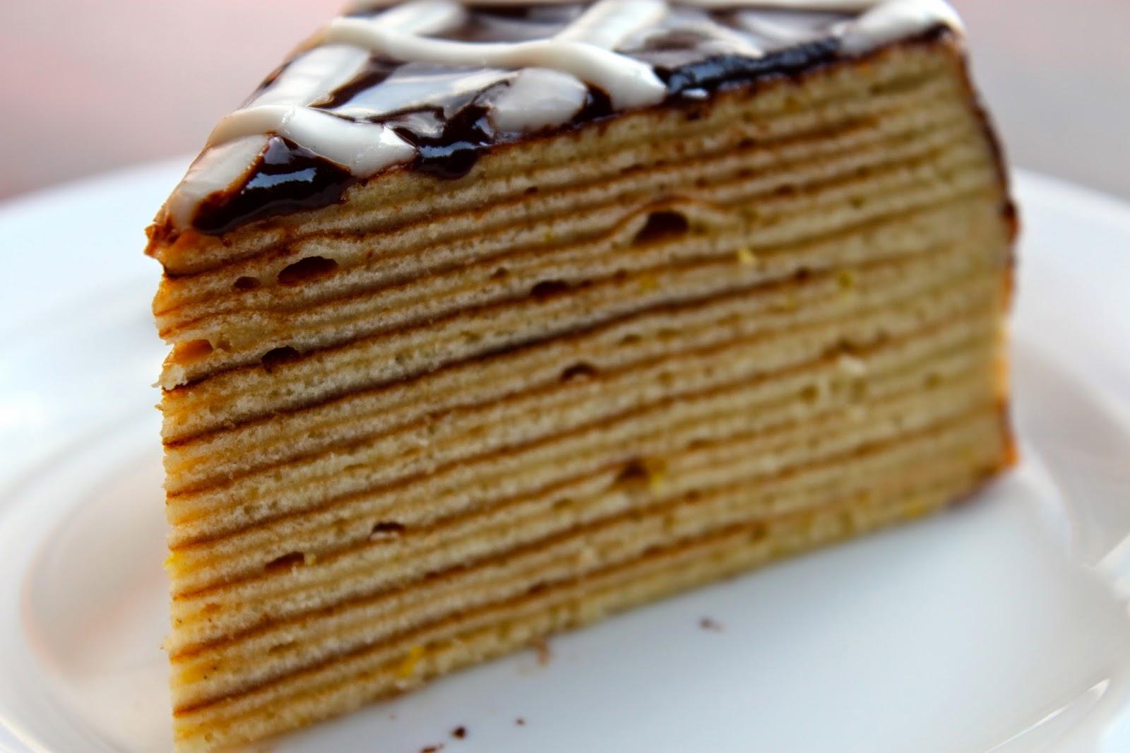 German Layered Cake Schichttorte