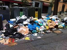Problemas en la recogida de basura