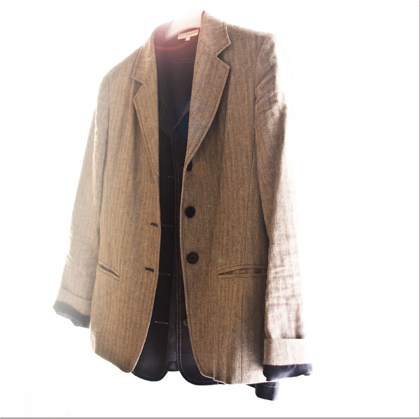 Psynopsis MyFavouriteThings Grey Vintage Max Mara Blazer Eric Bompard Blazer
