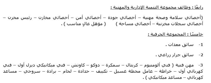 تفاصيل اعلان وظائف وزارة الاوقاف المنشور بتاريخ شهر اكتوبر 2014