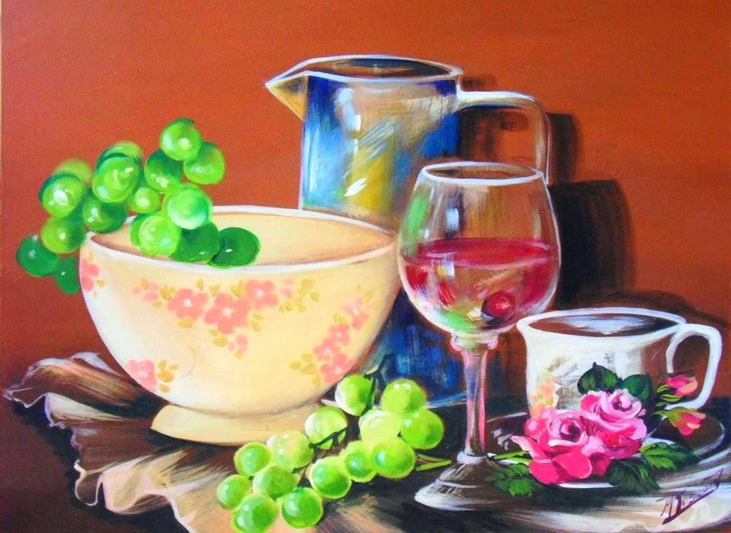 Cuadros modernos pinturas y dibujos diferentes cuadros for Comedor facil de dibujar