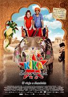 Cartel de la película para niños Kika Superbruja: El viaje a Mandolan