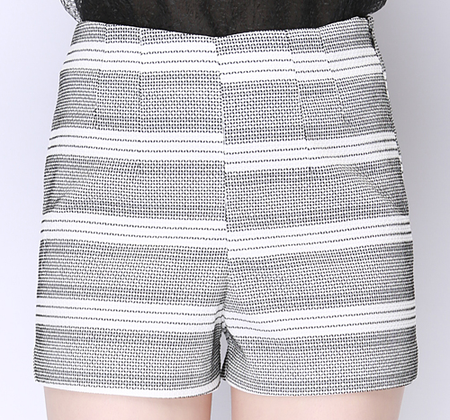 Urban Striped Dress Shorts