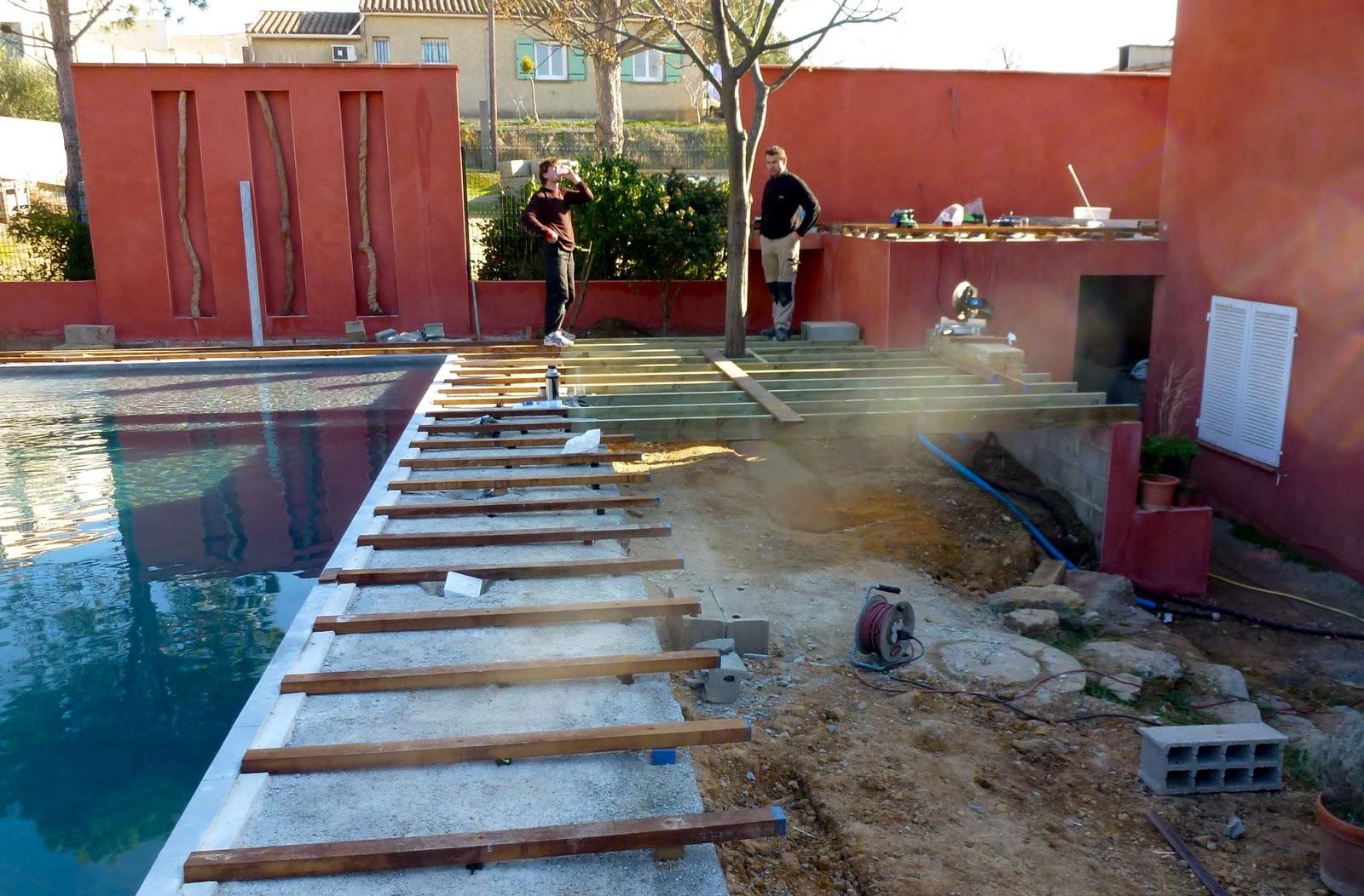 Terrasses en ip par decobois construction piscine diffazur for Construction piscine diffazur