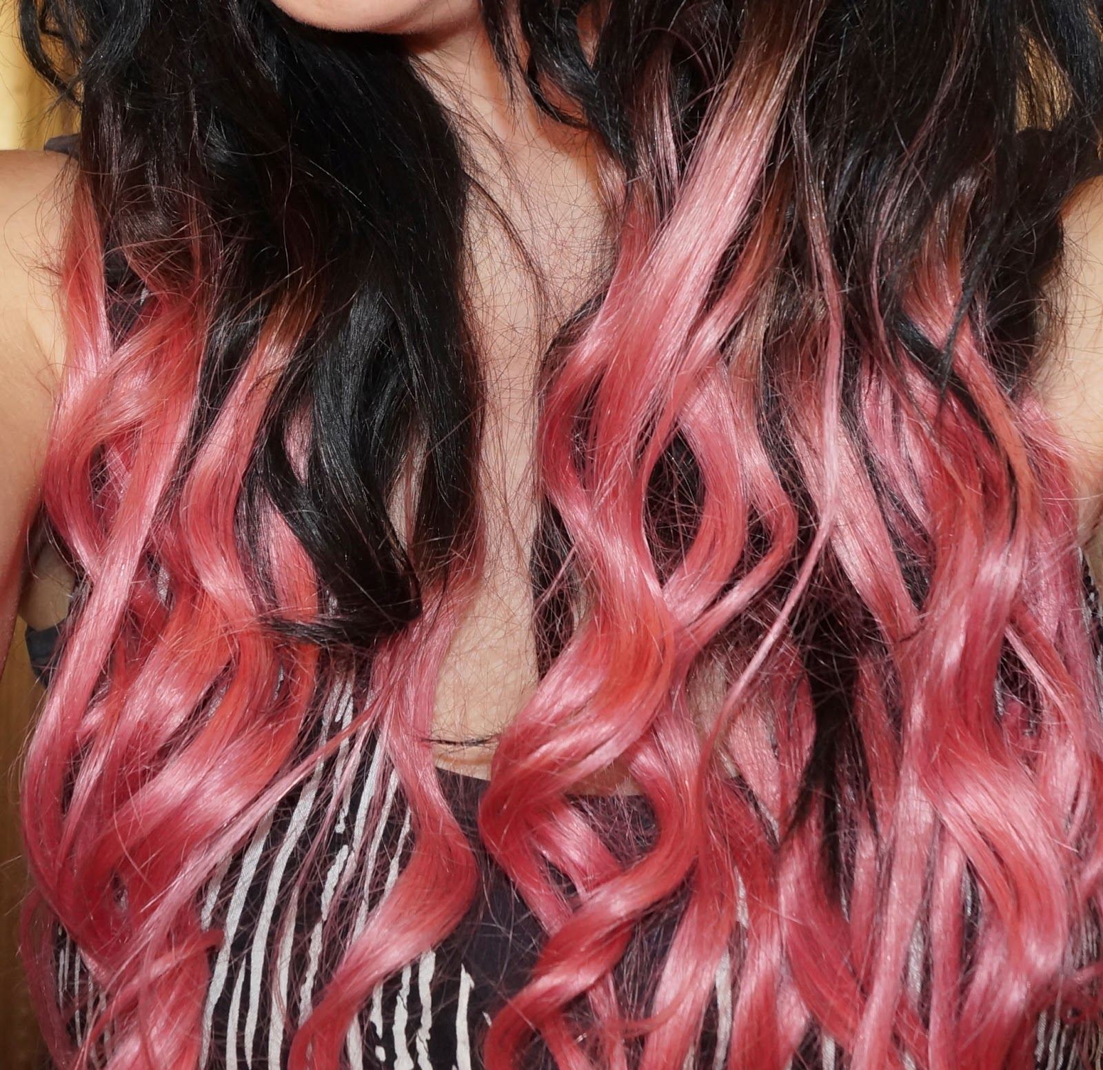 Jade Madden Pink Ombre Hair Double Draw Extensions Review