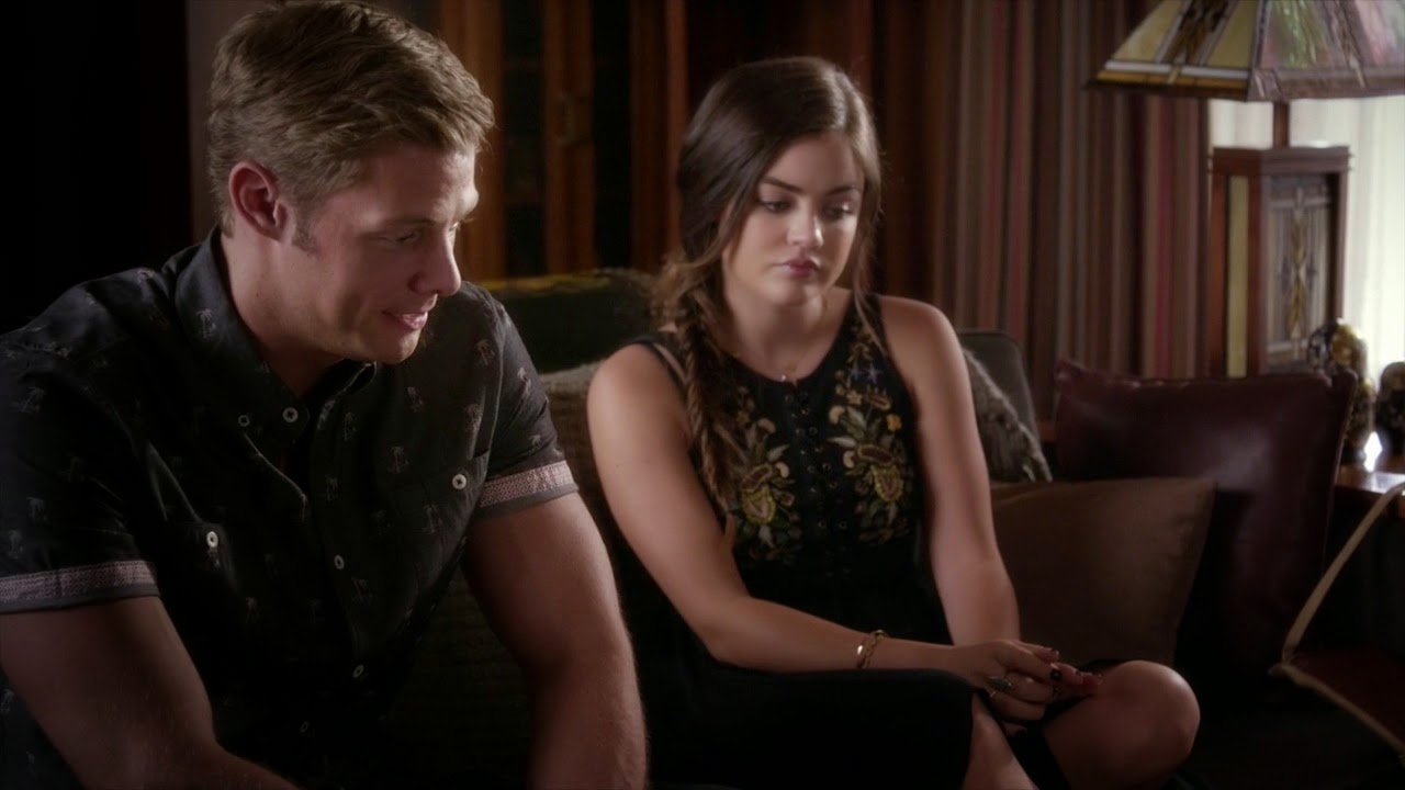Aria & Andrew PLL Out, Damned Spot
