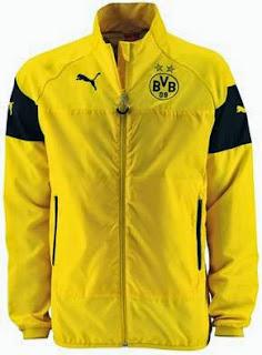 bocoran jaket terbaru dortmund musim 2014 2015 kualitas grade ori made in thailand