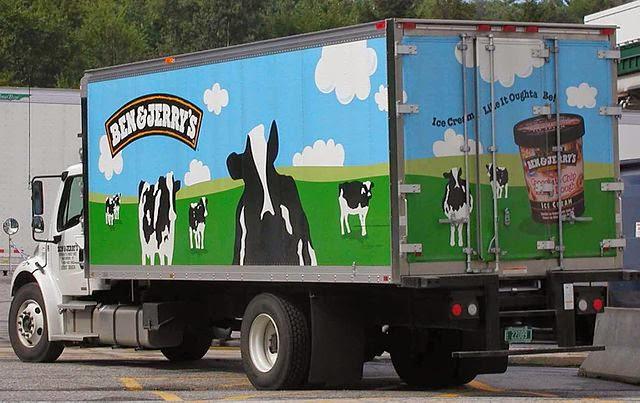 Ben %26 Jerry's truck