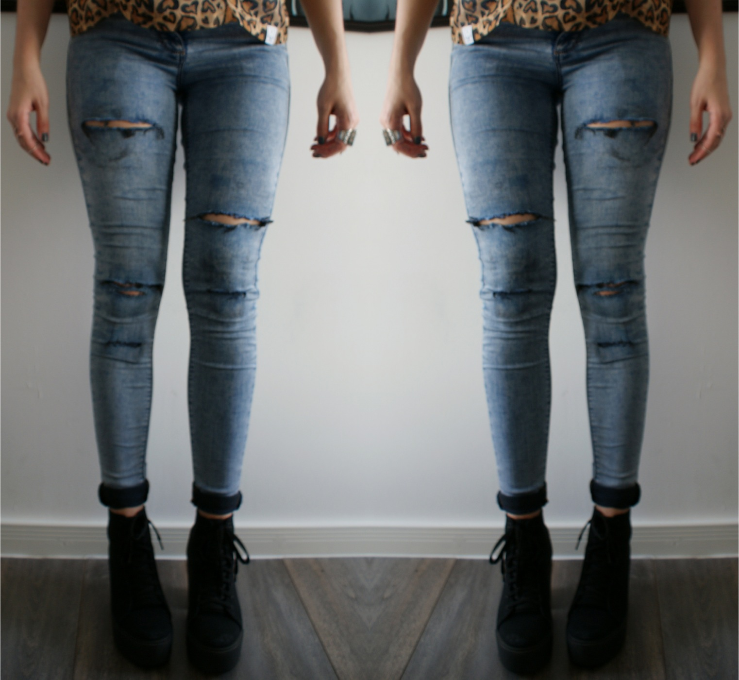 C o c o s p e a r l s diy ripped jeans so i am now going to explain step by step how to re create this look yourself if i can do it a monkey could do it solutioingenieria Gallery