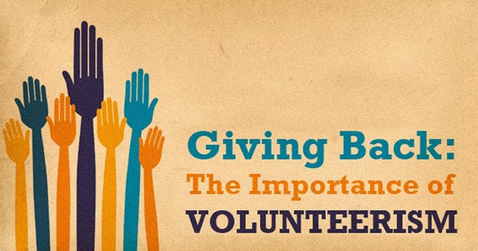 volunteering importance essay