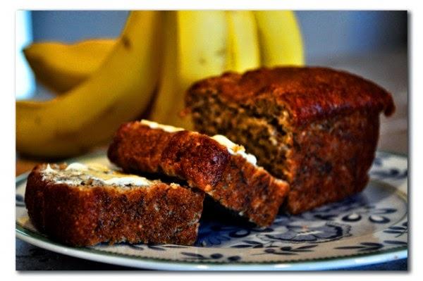 Pan de banano para bajar de peso