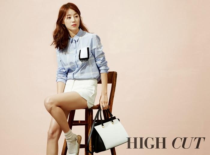 Han Ji Hye - High Cut Magazine Vol. 120