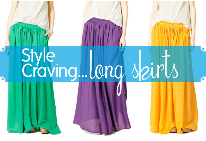 Glow kouture style craving long skirts