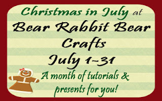 cinjuly2 Christmas in July with Bear Rabbit Bear!