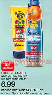 Stock Up on Banana Boat CoolZone Sunblock for $2.49 Next Week at Target! (Print Coupon Now!!)