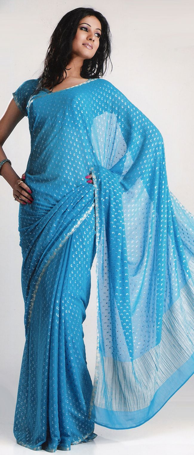 Fashion Style Simple Saree