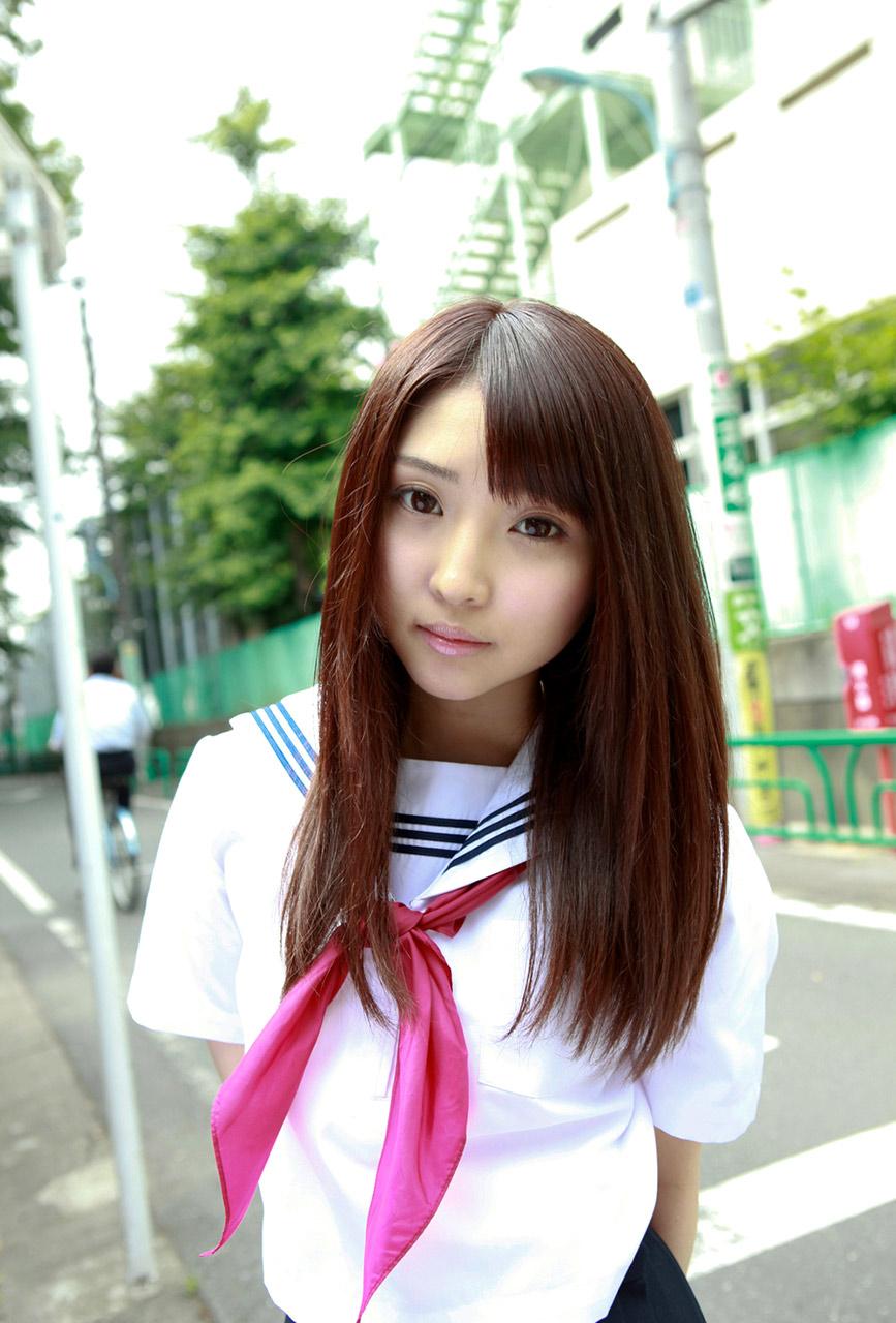 yoshiko suenaga sexy schoolgirl cosplay 01