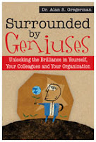 Cover of Surrounded by Geniuses by Dr. Gregerman