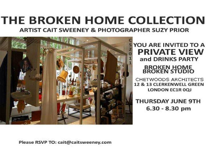 Broken Home Collaboration Flyer