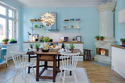 dapur cantik18 30 Ide Desain Dapur yang Cantik dan Menarik