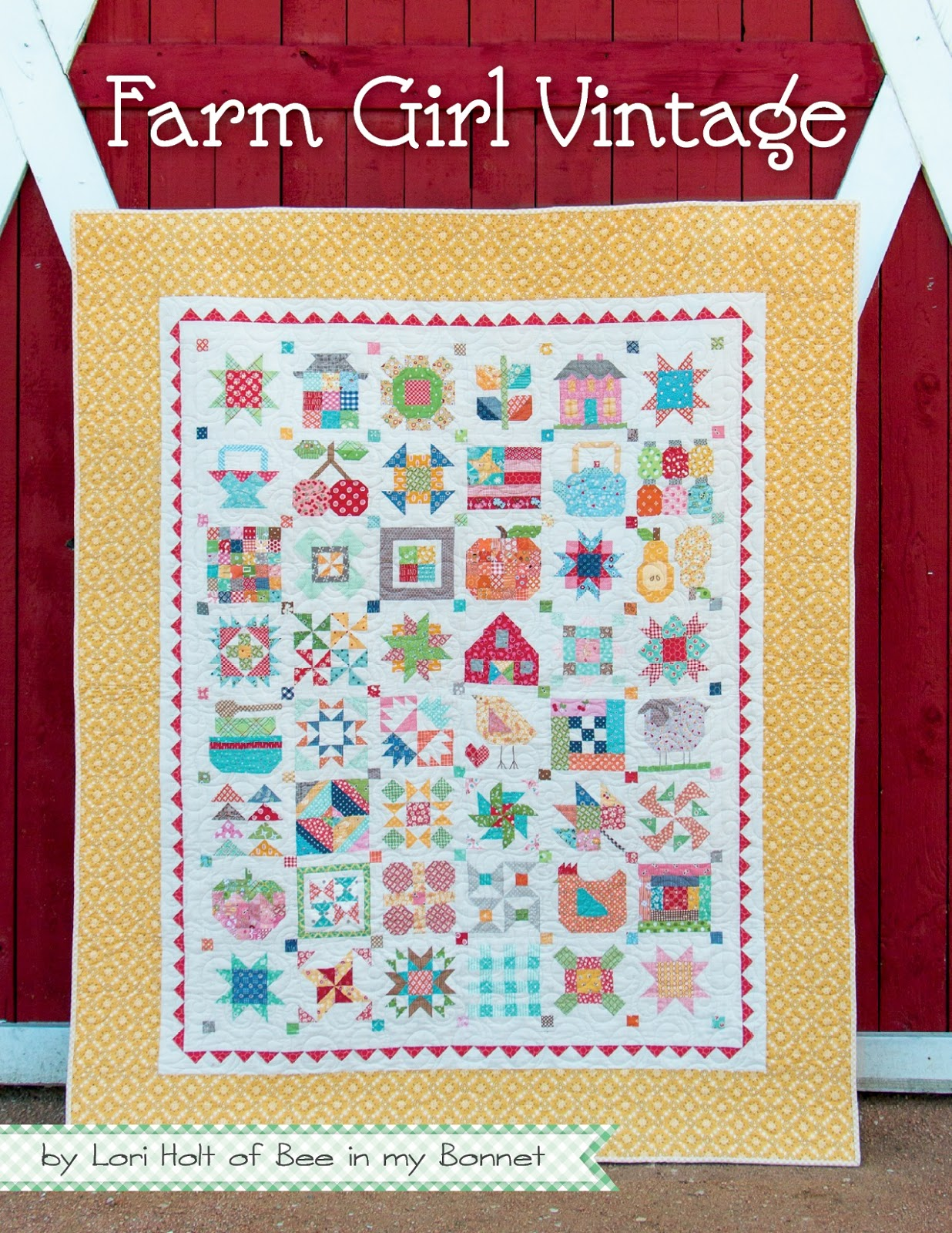 Bee In My Bonnet: Farm Girl Vintage is Here - New Sew Along too!!! : new quilt books - Adamdwight.com