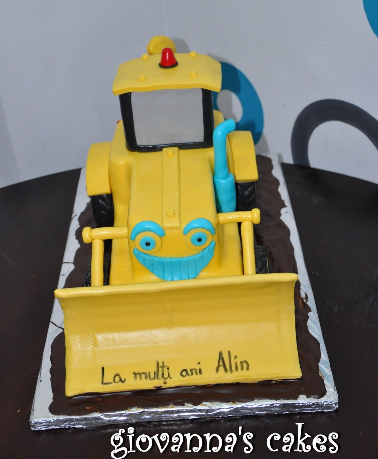 Giovannas Cakes Excavator Cake Again