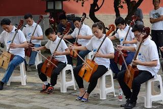Mongolian instrument morin khuur or ma tou qin