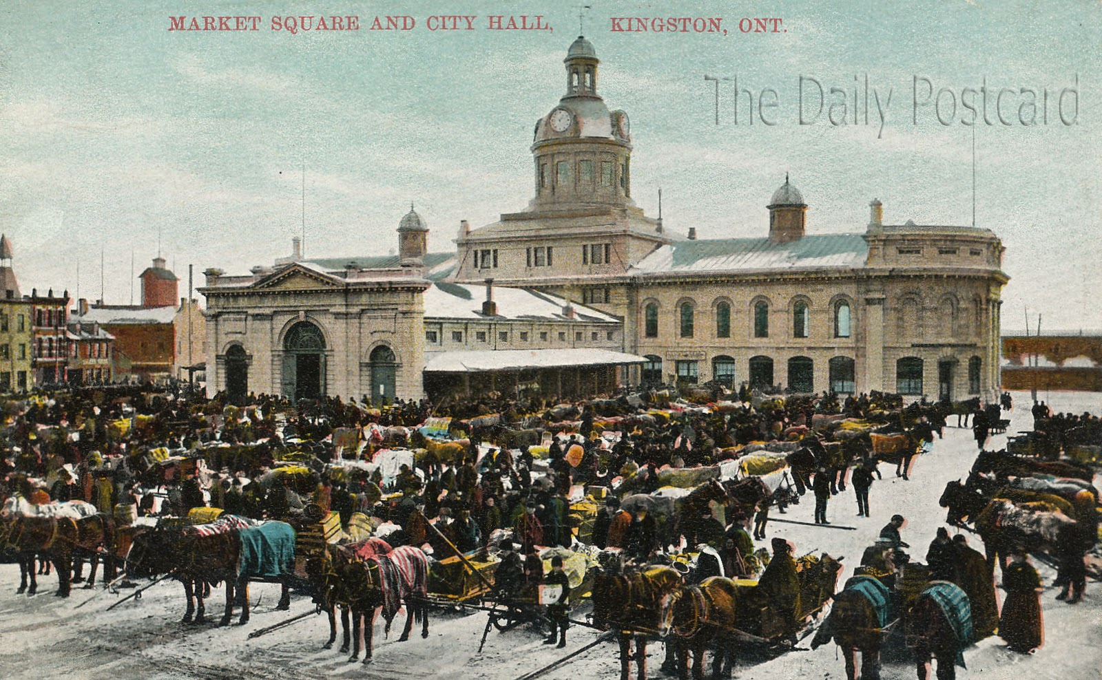 The daily postcard kingston ontario canada for The kingston