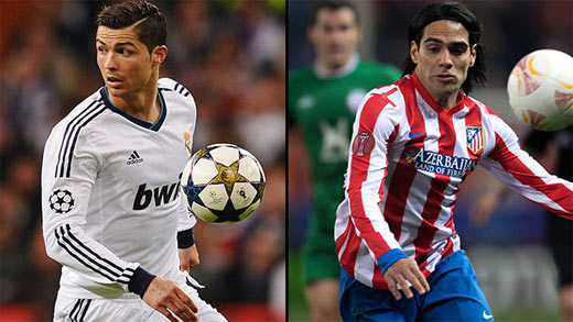 Real Madrid vs Atletico Madrid vivo