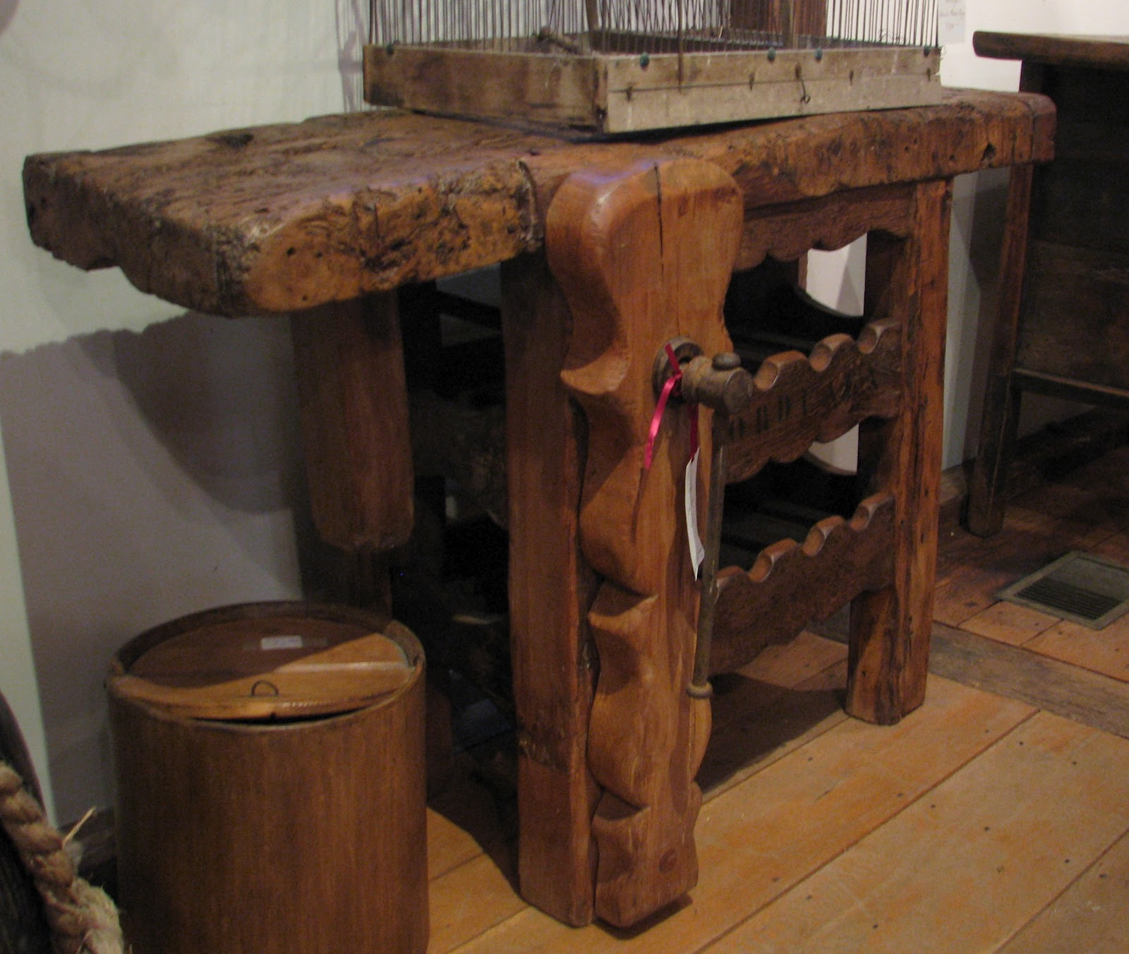 Unique Antique Work Bench  For The Garage  Pinterest
