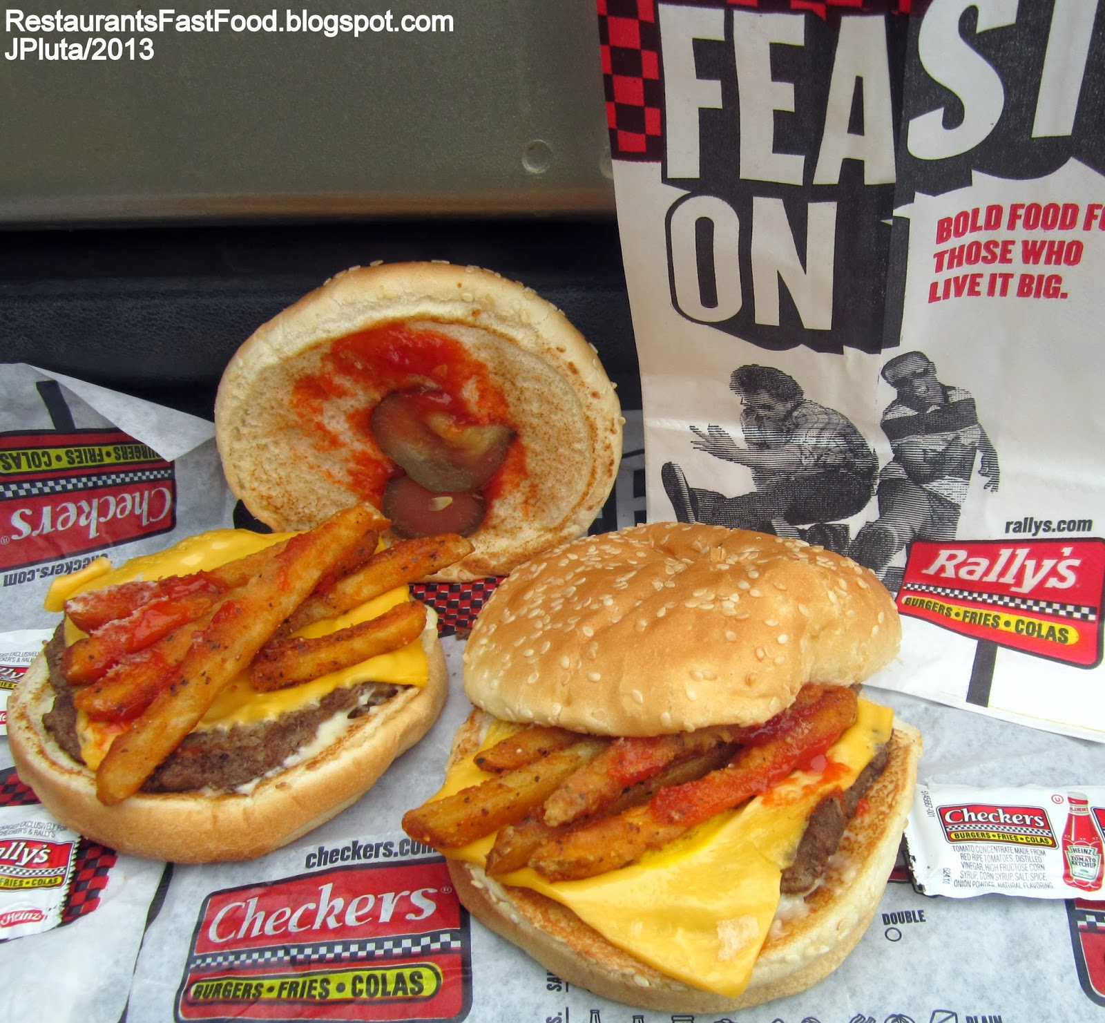 Checkers fry lovers burger checkers hamburgers fast food restaurant