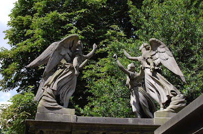 Weeping Angels in Kensal Green