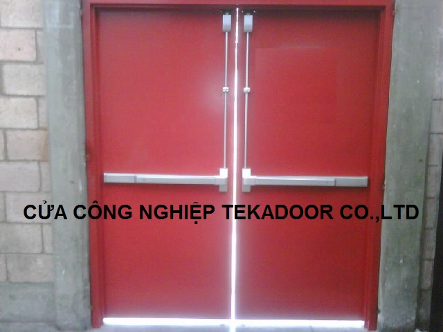 Cửa thép chống cháy Fire proof steel door