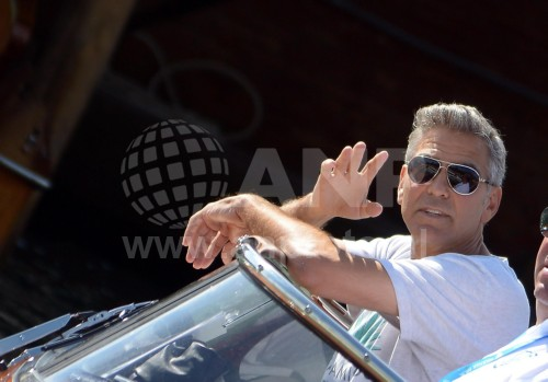 George Clooney arrives in Venice 24414929
